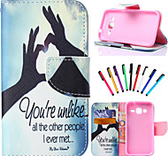PU Leather Shatter-Resistant Case Case Package Includes stylus for Samsung Galaxy Grand Prime G530