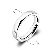 Fashion Men'S Glaze Titanium Steel Band Ring