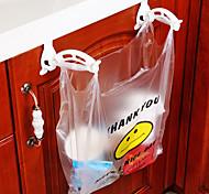 armários de armazenamento de plástico sacos de lixo de gancho