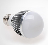 1 Stück LERHOME Geräusch aktiviert / Dekorativ Smart LED Glühlampen G60 E26/E27 7W 560 LM 6000-7000 K 14 SMD 5730 Kühles Weiß AC 100-240 V