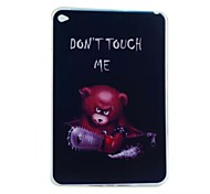 Chainsaw Bear Painted TPU Tablet computer case for ipad mini4