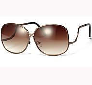 Sunglasses Women's Retro/Vintage / Modern / Fashion Oversized Brown / Gold / Blue / Gray / Multi-Color Sunglasses Full-Rim