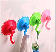 Wall Suction Hook Hanger Powerful Vacuum Kitchen Bathroom Suction Cup Sucker(Randomly)