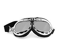 moto lunettes (/ coloré / argenture transparent / brun foncé / jaune)