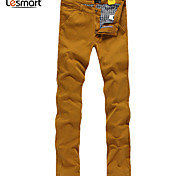 Lesmart Hommes Mince Pantalon Noir / Bleu / Jaune / Violet / Orange - LW14099