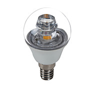 E14 5 W 1 COB 420 LM Cool White G45 Decorative Candle Bulbs AC 100-240 V