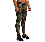 Vansydical Men's Quick Dry Fitness Bottoms Green / Red / Gray / Blue / Dark Green / Orange