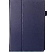 style de litchi livre folio cuir PU Smart Cover avec étui de stand pour la table Lenovo a10-70 / de A7600 (couleurs assorties)