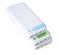 Salida USB 16000mah mutil alta capacidad f8 banco de la energía