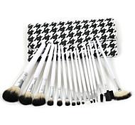 16pcs/Set Eye Shadow Foundation eyeliner Eyebrow Lip Brush Makeup Brushes set Tools cosmetics Kits