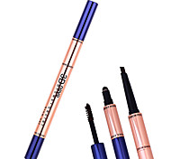 Eyebrow Pencil Dry / Matte / Mineral Coloured gloss / Long Lasting / Natural Multi-color Eyes 1 1 Make Up For You