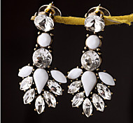 New Arrival Fashional Retro Crystal Gem Earrings