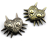 Jewelry Inspired by The Legend of Zelda Cosplay Anime/ Video Games Cosplay Accessories Badge / Brooch Golden / Silver Alloy Male