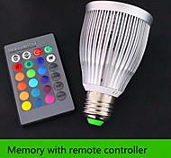 Focos Regulable / Control Remoto / Decorativa Fenghe Rotatoria E26/E27 10 W 1 LED Integrado 1200 LM RGB AC 85-265 / AC 100-240 V 1 pieza