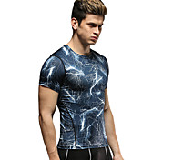 Vansydical Men's Quick Dry Fitness Tops - JSY-2015026