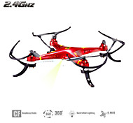 Huanqi 894 4ch 6 as rc quadcopter 2.4g wit / rood / blauw rc drone met headless mode