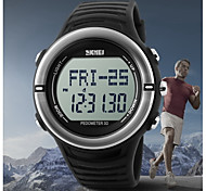Men's LCD Digital Health Sport Watch Pedometer Heart Rate Monitor