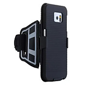 The New Nano-Material Non-Slip anti-Sweat Waterproof High-Tech Sports Armband Phone Case for Samsung Galaxy S6 Edge+