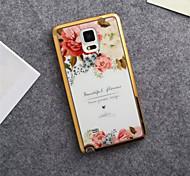 Para Samsung Galaxy Note Diseños Funda Cubierta Trasera Funda Flor TPU Samsung Note 5 / Note 4