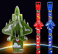 Kid's Aircraft Style Digital Toy Watch