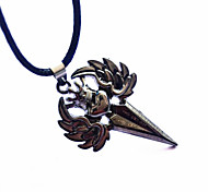 Fashion Stainless Steel Angel Wings Pendant Necklace