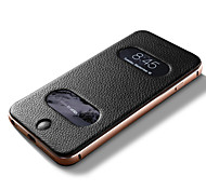 The Following Case Metal Frame Leather Back Cover Cover The Whole Surrounded By Costly for Iphone6/6 s