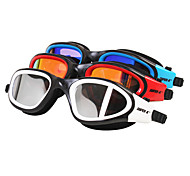 SUPER-K Swimming Goggles Women's / Men's / Unisex Anti-Fog / Waterproof / Adjustable Size Silica Gel PC Red / Black / Blue Others