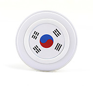 South Korea flag Qi Standard DC5V Charging Pad Wireless Charger for Samsung Galaxy S6/S6 Edge G9250 G920f