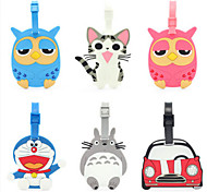 "Luggage TagForLuggage Accessory Rubber 4.7""*2.6""*0.5""(12cm*6.5cm*0.5cm)"