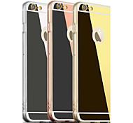 grande espelho d acrílico de volta para o iPhone 6 / 6s (cores sortidas)