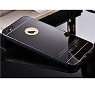 High Quality Protective Metal Bumper Frame with Back Cover for iPhone 6/6S (Assorted Colors)