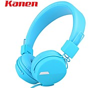kanen IP-852 Ohrhörer Super Bass-Stereo-Kopfband Kopfhörer-Kopfhörer für Smartphone-Tabletten-PC-Computer mit Kleinkasten