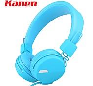Kanen IP-852 Earphone Super Bass Stereo Headband Headphone Headset for Smart Phone Tablets PC Computer With Retail Box