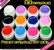 20200 2016 Hot Sale GDCOCO Cosmetics Nail Art Design 12 Colors UV Color Paint Gel Ink