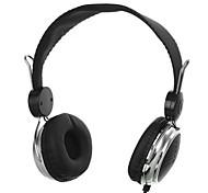 t148-3.5mm dobrar fones de ouvido estéreo Fones de ouvido Headset controlador cabo destacável para pc iphone4 / 5