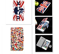 The Skeleton Pattern PU Leather Full Body Case for iPhone 4/4S