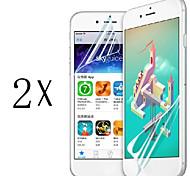 anti-huella digital protector de pantalla de primera calidad de alta definición más alta para el iphone 5 / 5c / 5s (2 piezas)
