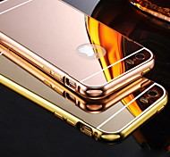 Metallic Plating Back Cover for iPhone 5S/5