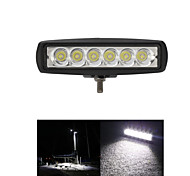 1800LM Mini 6 Inch 18W 12V CREE LED Spot Work Light Bar Car Worklight Lamp for Boating /Hunting / Fishing / Offroad