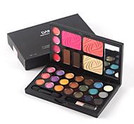 1Pcs Eye Shadow Deep Blue Magic Bead Light Eye Shadow Box Of 21 Colors Makeup Set