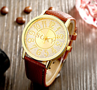 Fashion Business Leather Men Quartz Watch Wrist Watch Cool Watch Unique Watch