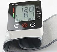 ck®ome automatico da polso digitale pressione sanguigna bracciale metro polso cardiofrequenzimetro sfigmomanometro LCD touch