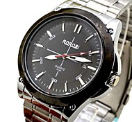 Men Watch Fashion Stainless Steel  Quartz Analog WristWatches For Men