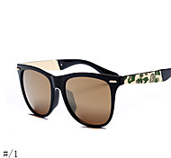 Unisex 's Anti-reflectante / Polarizada Ovalada Gafas de Sol