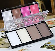 New Love Alpha® 4 Colors High Light Shadow Powder  1Pc