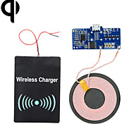 Cwxuan™ Qi Standard DIY Wireless Transmitting PCB + DC Receiving Module Charging Set