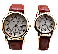 2016Couple Lovers  Wristwatch Female Male Clock Wrist Watch Cool Watches Unique Watches