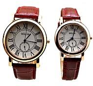 2016couple amantes de los relojes de pulsera de reloj hombre mujer reloj de pulsera