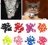 Grooming / Health Care Nail Cap Pet Grooming Supplies Portable / WirelessRed / Black / White / Green / Blue / Pink / Yellow / Gray /