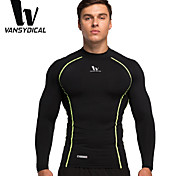 Vansydical Men's Quick Dry Fitness Tops - AWGLCX-2015